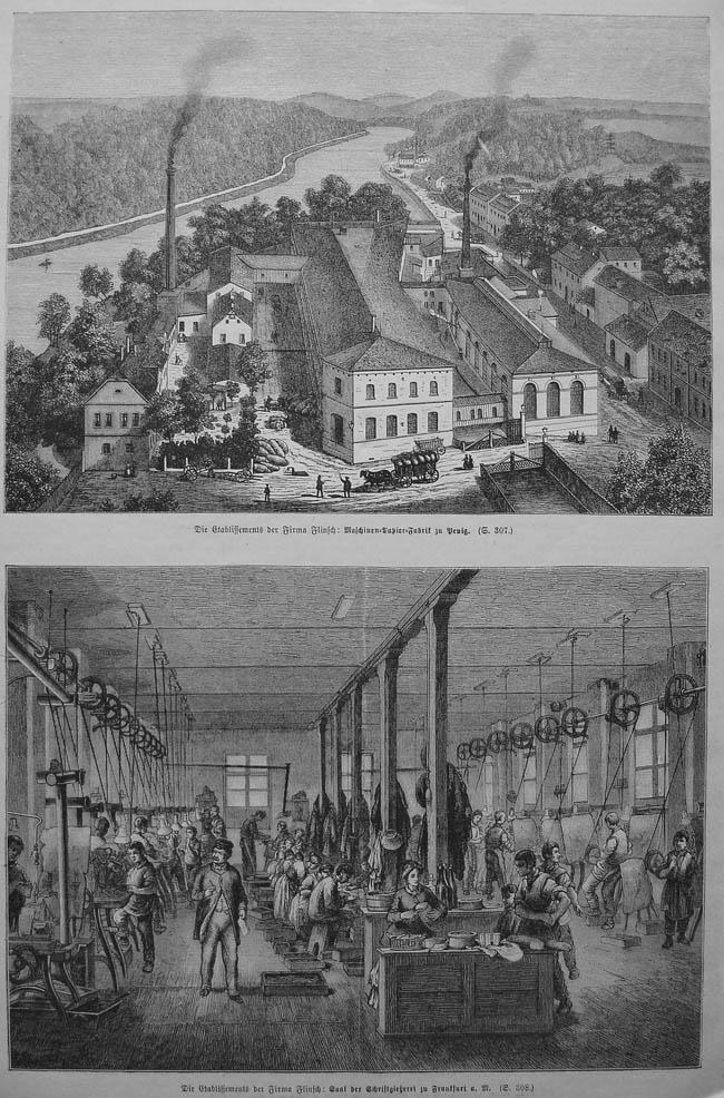 Papierfabrik-Buchdruck-Flinsch-Penig-Stich-v-1884